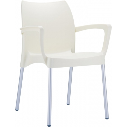 Dolce chair with armrests