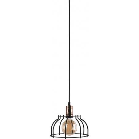 Industrialna Lampa wisząca druciana Laboratory 23 do salonu. Kolor: czarny w cenie 149