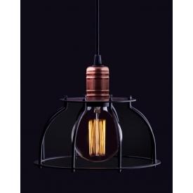 Industrialna Lampa wisząca Indica 46 do salonu. Kolor: rdzawa powłoka w cenie 369,00 PLN.