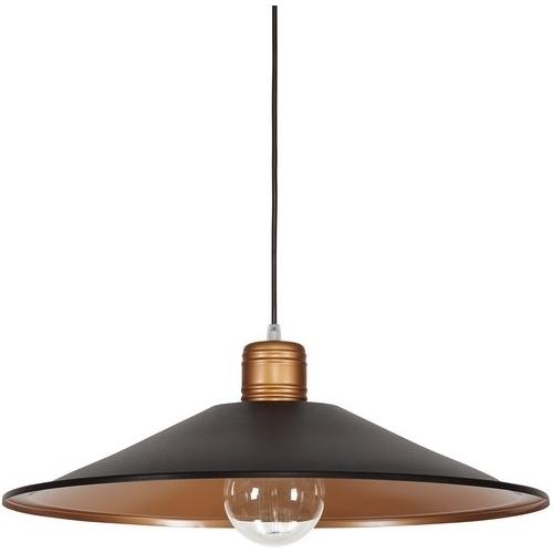 Gerrard 50 dark brown industrial pendant lamp