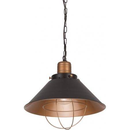 Gerrard 34 dark brown wire pendant lamp