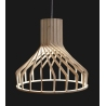 Wooden A 38 birch plywood pendant lamp