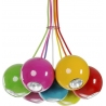 Rainbow multicolour balls pendant lamp