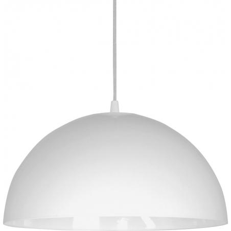 Stylowa Lampa wisząca Vault White S 34 do sypialni. Kolor biały