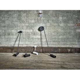 Designerska Lampa Acrylic 35cm insp. Caboche do salonu. Kolor przeźroczysty, bursztynowy przeźroczysty, Materiał tworzywo.
