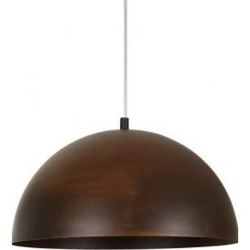 Industrialna Lampa wisząca Vault Rust 34 do salonu. Kolor: rdzawa powłoka w cenie 169