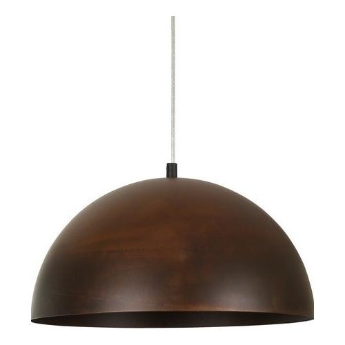 Stylowa Lampa wisząca industrialna Vault Rust 34 Rdzawa powłoka do salonu i sypialni.