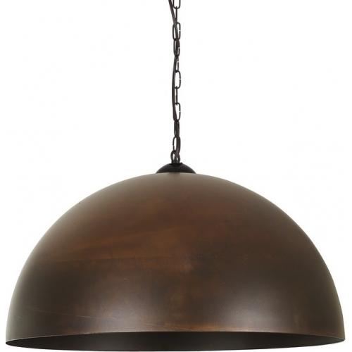 Stylowa Lampa wisząca industrialna Vault Rust 50 Rdzawa powłoka do salonu i sypialni.