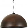 Industrialna Lampa wisząca Vault Rust 50 do salonu. Kolor: rdzawa powłoka w cenie 365