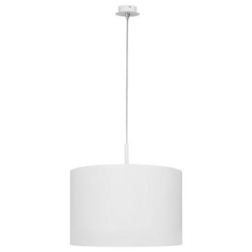 Stylowa Lampa wisząca Delicate 47 do sypialni. Kolor biały