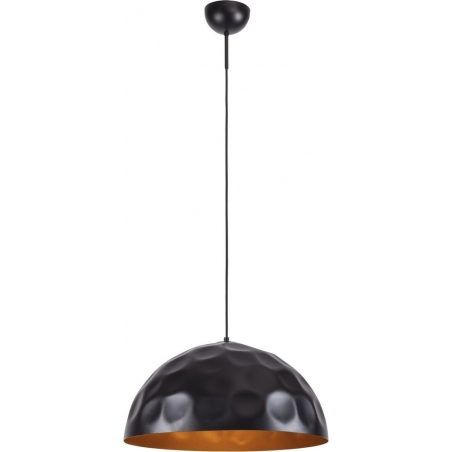 Vault Plus 50 black&gold industrial pendant lamp