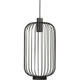Stylowa Lampa wisząca Sky Gardena 60 do sypialni. Kolor czarny, biały, Styl inspirowane.