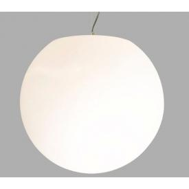 Designerska Lampa wisząca kula Globus 45 Biała do salonu i sypialni.