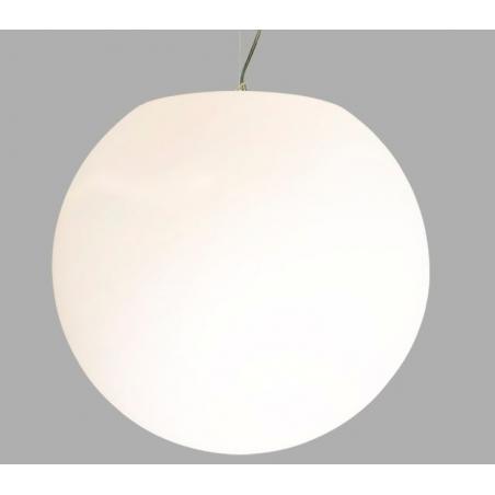 Globus 45 white ball pendant lamp