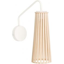 Stylowa Lampa wisząca skandynawska Slope Black 22 DFTP do salonu. Kolor biały.
