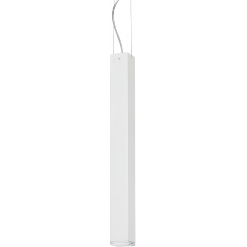 Block 61 white tube pendant lamp