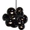 Designerska Lampa wisząca kule Astronomy XI Czarna Step Into Design do salonu i sypialni.