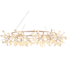 Stylowa Lampa wisząca Chic Botanic 150 LED Step Into Design do salonu o ciekawym kształcie. Styl inspirowane.