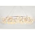 Elegancka lampa Dallas Single w kształcie żarówki