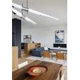 Designerski Okrągły stolik kawowy Mini Hole 52 Intesi do salonu. Kolor biały, stelaż/podstawa z tworzywa.