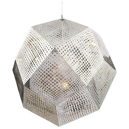Stylowa Lampa wisząca Futuri Star 48 Step Into Design nad stół. Kolor srebrny