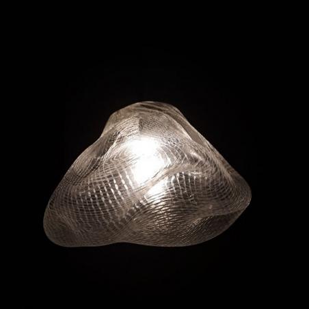 Designerska Lampa wisząca Icy 20 Przezroczysta Step Into Design do salonu i sypialni.