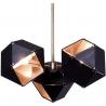 Stylowa Lampa wisząca Geometry III Step Into Design nad stół. Kolor czarny