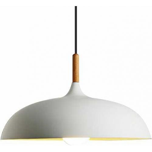 Stylowa Lampa wisząca skandynawska Saucer 45 Biała Step Into Design do salonu i sypialni.