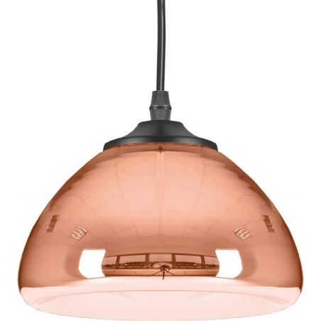 Miedziana lampa biurkowa Bliny Lucide