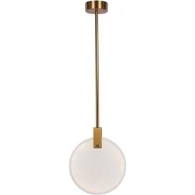 Industrialna lampa wisząca Rana 35 w kolorze czarnym.