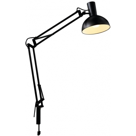 Arki black screw-on desk lamp DFTP