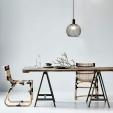 Krzesło metalowe industrialne Paris Arms