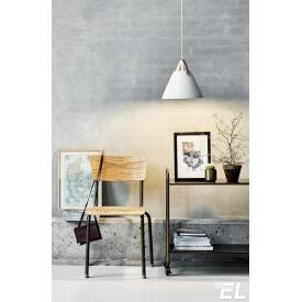 Elagancka, czarna lampa stołowa Bastia.