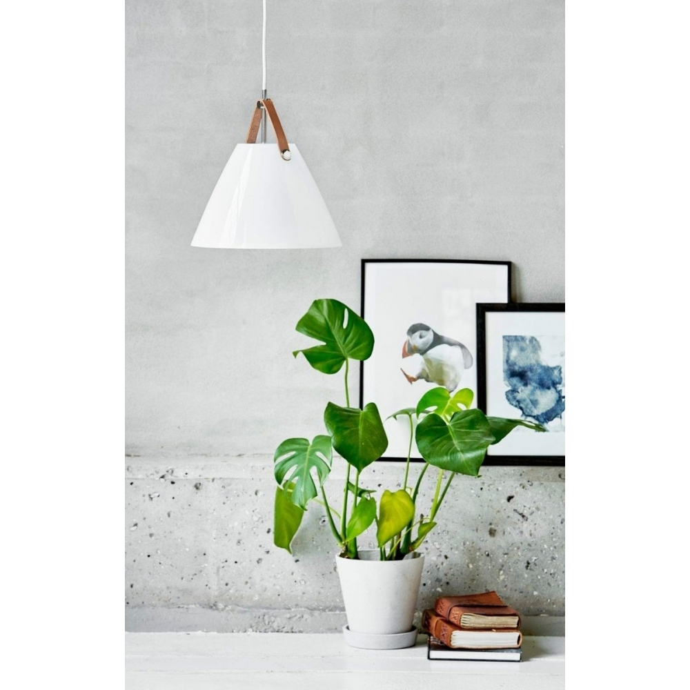 Designer Pendant Lamp Made From Cork Lighting