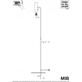 Lampa betonowa Febe XS do kuchni