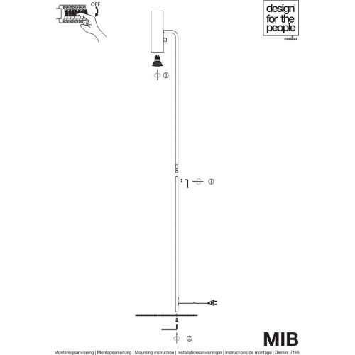 Lampa betonowa Febe XS