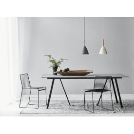 Krzesło Tulipan Armless Black