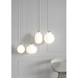Stylowa Lampa wisząca skandynawska Figaro 34 Markslojd do salonu. Kolor biały.