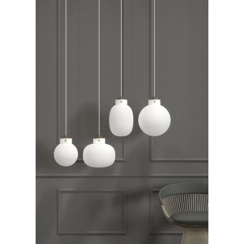 Skandynawska lampa wisząca Figaro do kuchni