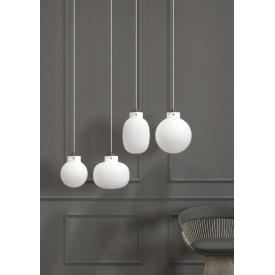 Elegancka materiałowa lampa wisząca Corse
