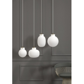 Elegancka materiałowa lampa wisząca Corse Markslojd