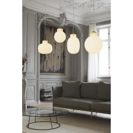 Stylowa Lampa wisząca Corse 38 Markslojd nad stół. Kolor biały, Styl nowoczesny.
