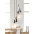 Stylowa lampa wisząca do kuchni Edge Gold, oświetlenie nad stołem