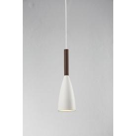 Stylowa Złota lampa wisząca Bongo 28 Markslojd do salonu o ciekawym kształcie. Styl nowoczesny.