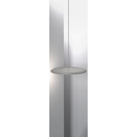 Srebrna lampa wisząca Hammer M do przedpokoju Markslojd