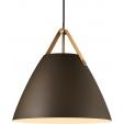 Szklana lampa stołowa Storm M, oświetlenie przedpokoju