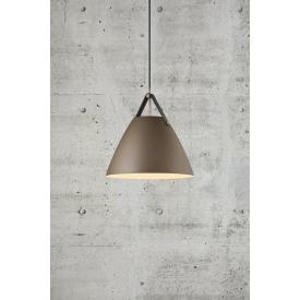 Złota lampa stołowa Storm S ze szkła