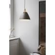 Stylowa szklana lampa Storm S, oświetlenie sypialni
