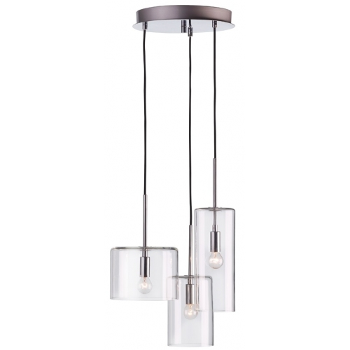 Rockford transparent glass pendant lamp Markslojd