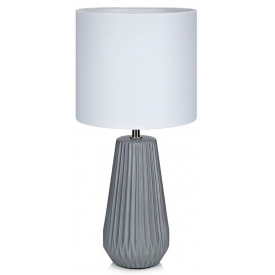 Nicci 19 grey ceramic table lamp Markslojd